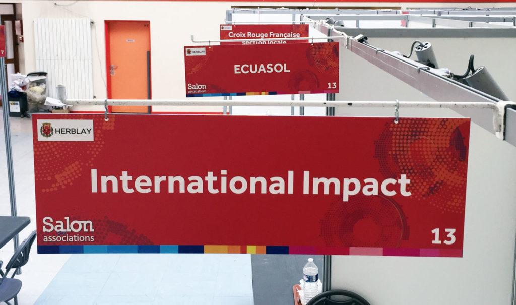 Salon des Associations International Impact Ecuasol