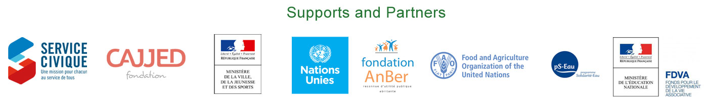 Supports et partanires d'International Impact